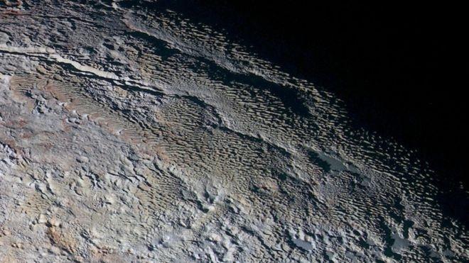 کشف تپههای متانی در پلوتو