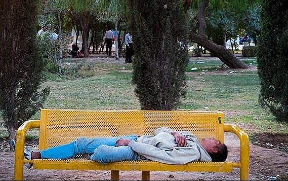 کوچ معتادان متجاهر تهران از جنوب به شمال شهر