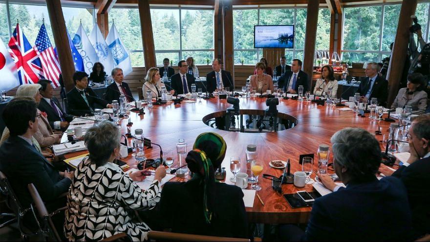 انزوای آمریکا در نشست وزیران دارایی گروه ۷