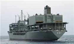 ناو بالگردبر «خارک» به دریا بازگشت