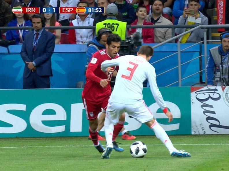 تیم ملی ایران و اسپانیا