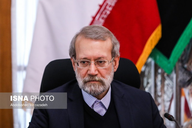 سخنان لاریجانی درباره بررسی کنوانسیون مقابله با تامین مالی تروریسم