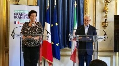 دیدار وزرای علوم ایران و فرانسه
