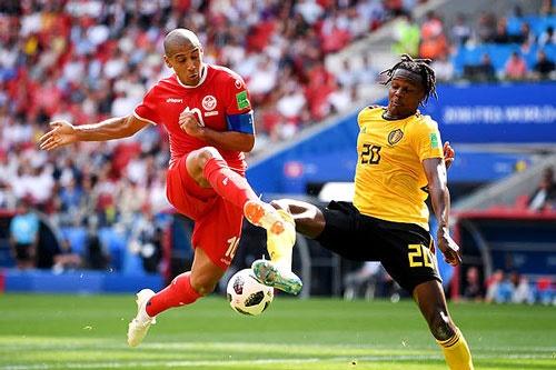 جام جهانی بلژیک تونس