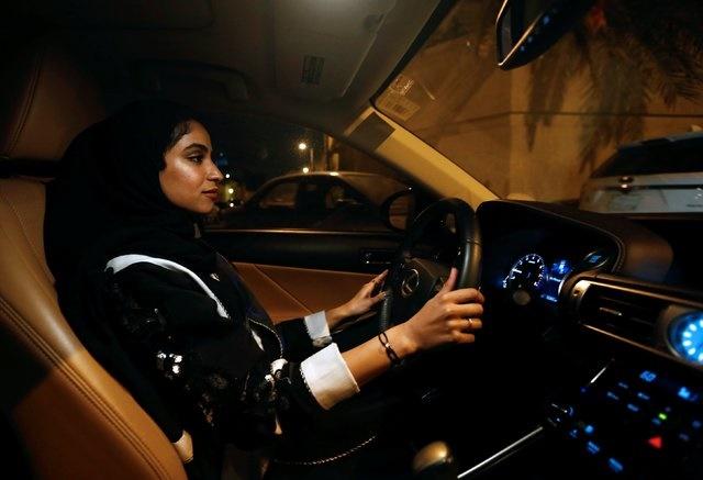 تصاویر زنان سعودی پشت رول