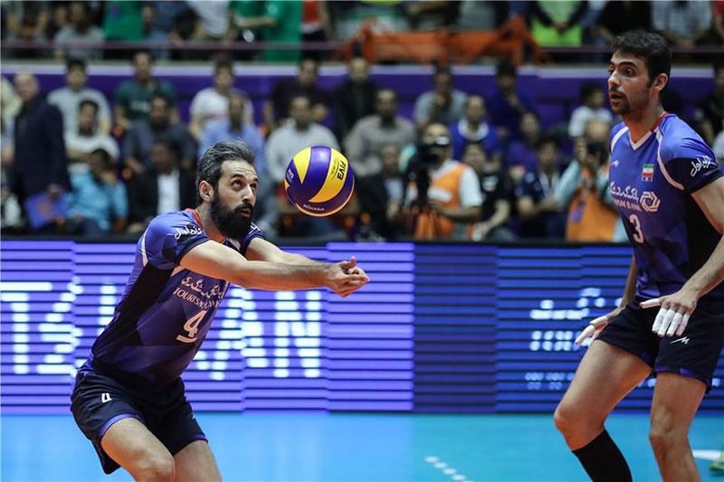 لیگ ملتهای والیبال؛ ایران سه – بلغارستان یک