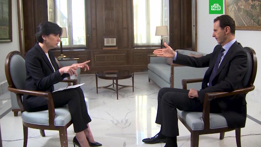 اسد: غرب برای نجات تروریست ها سوریه را متهم می کند
