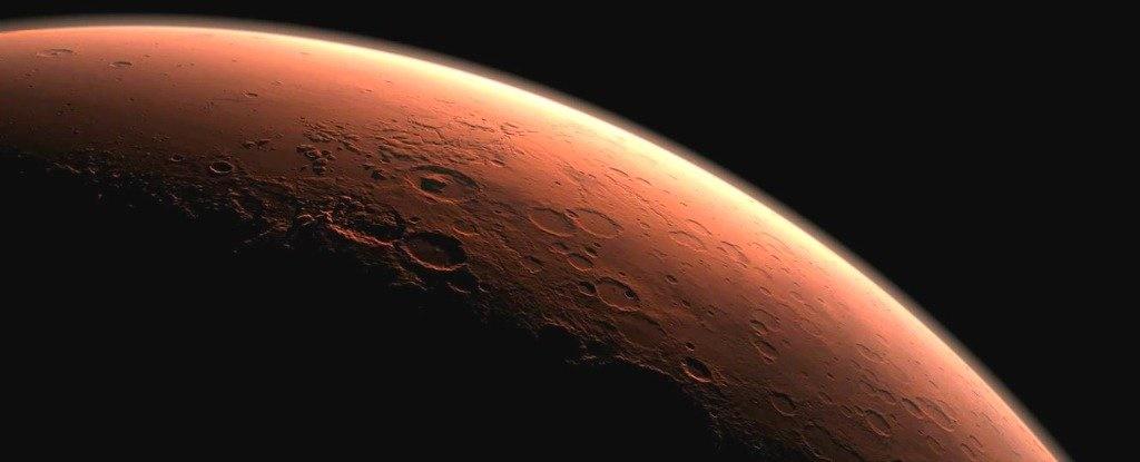 طوفان شن سرتاسر مریخ را دربر گرفت