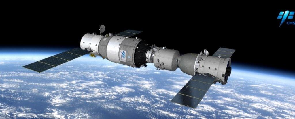 نزدیکشدن غیرعادی ایستگاه فضایی چینیها به زمین