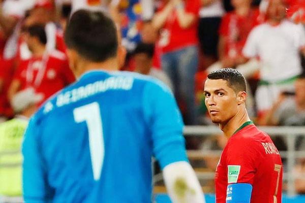 مارکا: رونالدو در بازی با ایران محو شده بود