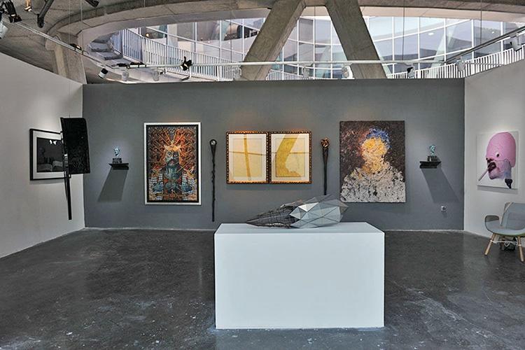 ۶۸ هنرمند در نخستین تیرآرت تهران | تماشای هنر پیشروی ایران در یک قاب