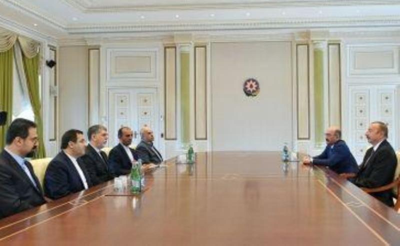 وزیر ارشاد با رئیس جمهور آذربایجان دیدار کرد