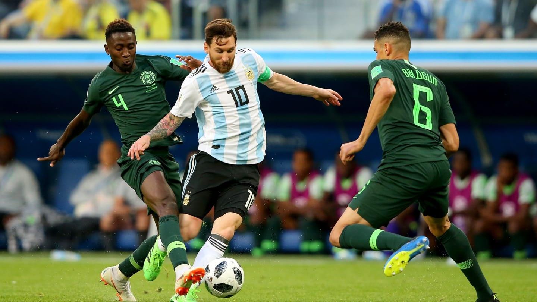 آرژانتین ۲ - نیجریه ۱   صعود آرژانتین