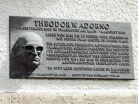 زندگینامه: تئودور ویزنگرند آدورنو (۱۹۰۳ - ۱۹۶۹)