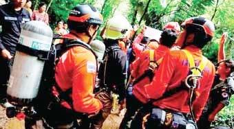 نجات گمشدگان غار تایلند