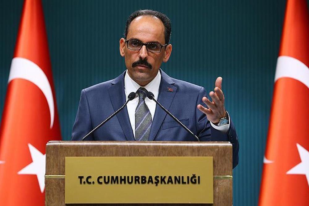 سخنگوی رئیس جمهوری ترکیه: آنکارا موافق تحریم آمریکا علیه ایران نیست
