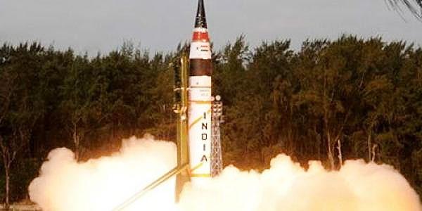 موشک بالستیک هند