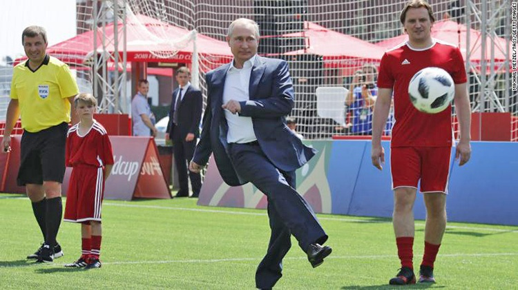 فوتبال را فراموش کنید   برنده واقعی جامجهانی پوتین است