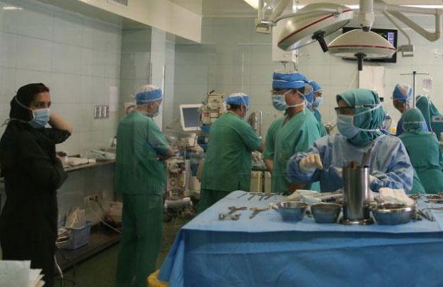 تصاویر | جراحی قلب کودک ۱۵ ماهه در بیمارستان شهید مدرس