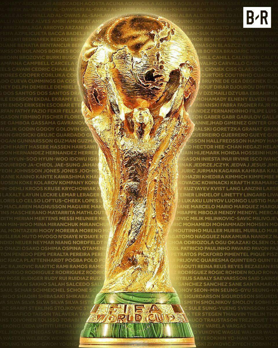 جام جهانی ۲۰۱۸ روسیه | همه نامها