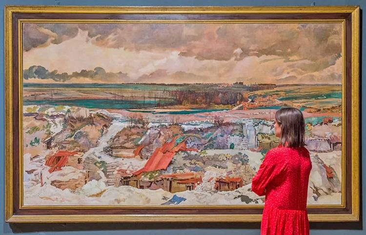 یک قرن پس از هنر جنگ جهانی اول در تیت بریتانیا