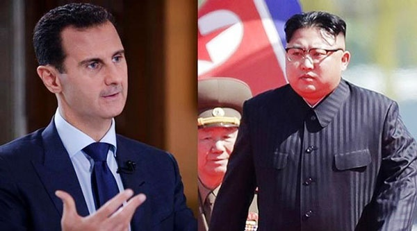 بشار اسد کیم جونگ اون