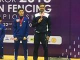 شمشیربازی قهرمانی آسیا/ تایلند؛ کسب مدال برنز توسط پاکدامن
