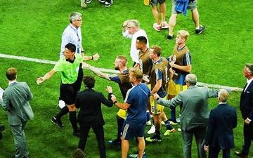 عذرخواهی تیم ملی فوتبال آلمان ازسوئدیها
