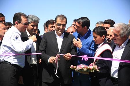 پروژه های بهداشتی و درمانی شهرستان آباده افتتاح شد