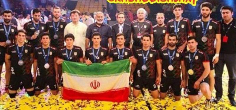 تیم ایران نایب قهرمان کبدی ۶ جانبه مسترز دوبی شد