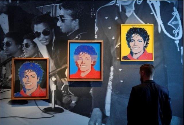 نمایشگاه هنری مایکل جکسون در لندن