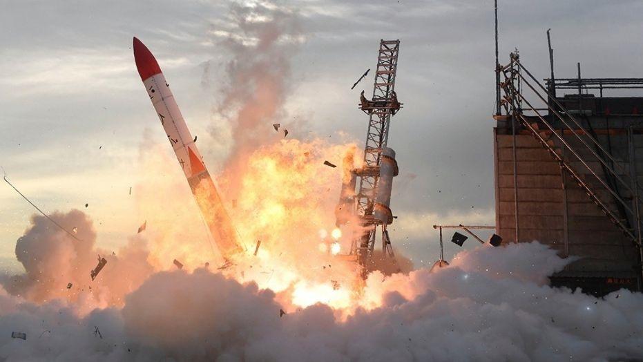 موشک فضاپیمای ژاپنی منفجر شد