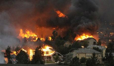 آتشسوزیهای طبیعی باعث آلودگی هوا تا فواصل دوردست میشوند