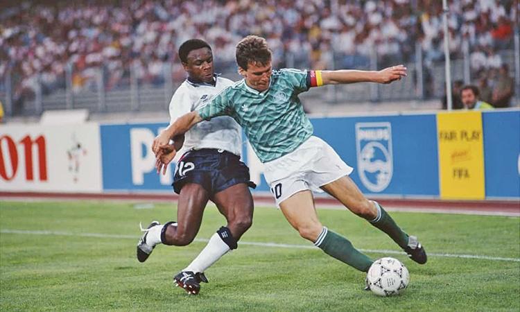 لوتار ماتیوس در نیمه نهایی ۱۹۹۰