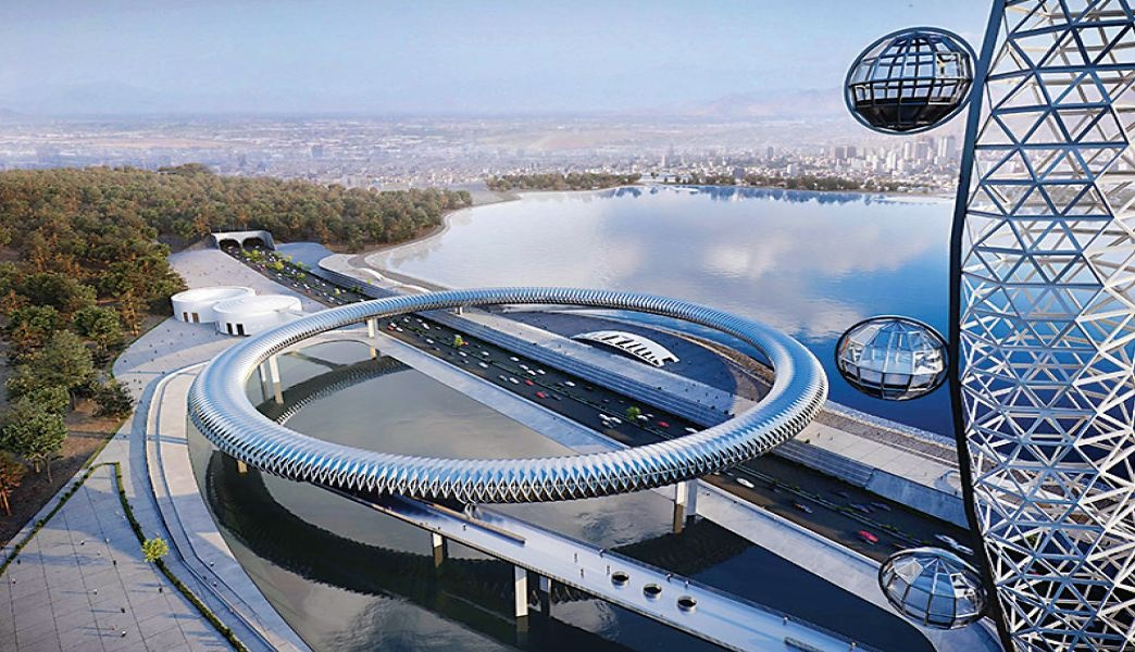 اتصال پهنه جنوبی دریاچه شهدای خلیجفارس