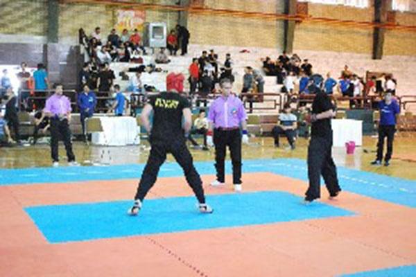 کردستان در جایگاه اول مسابقات کونگ فوی قهرمانی کشور آقایان ایستاد