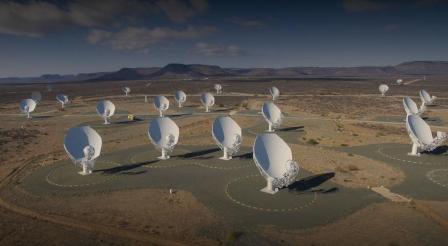 رادیوتلسکوپ عظیم آفریقای جنوبی شروع به کار میکند
