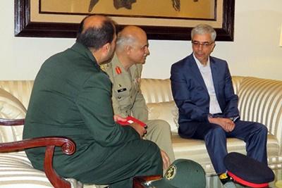 رئیس ستاد کل نیروهای مسلح ایران وارد پاکستان شد