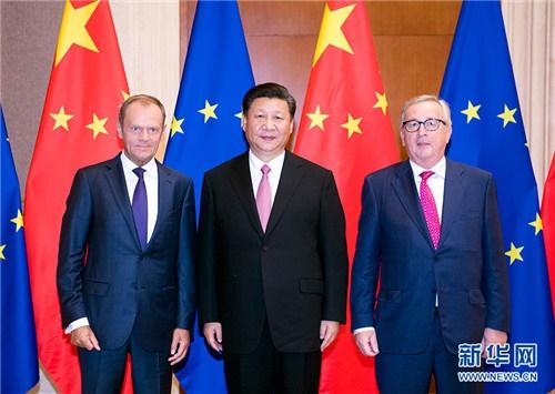 رئیس جمهور چین خواستار تقویت روابط با اتحادیه اروپا شد