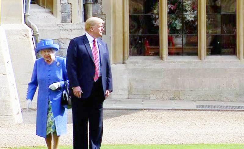 شاهزادگان انگلیس حاضر به دیدار با ترامپ نشدند | ملکه تنها ماند
