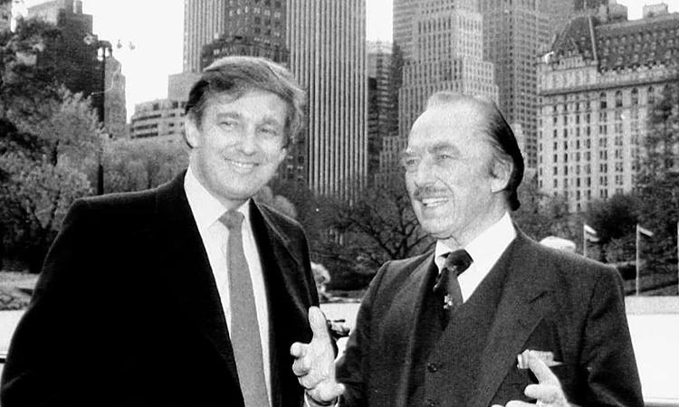 دونالد ترامپ و پدرش