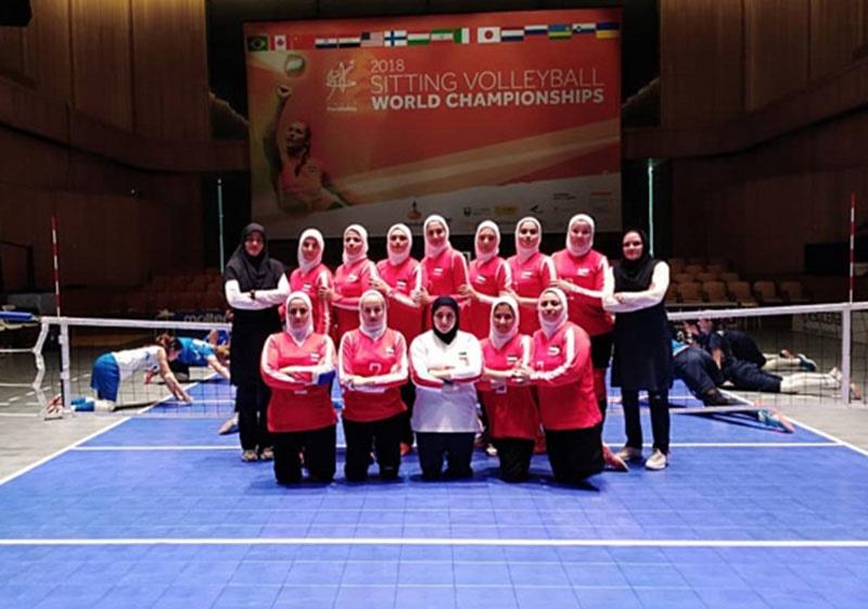 رقابتهای جهانی والیبال نشسته؛ تیم بانوان ایران از راهیابی جمع هشت تیم برتر بازماند