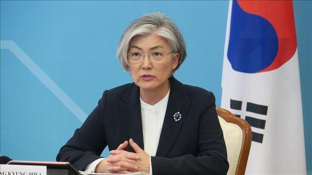کانگ کیونگ- وها وزیر امور خارجه کره جنوبی