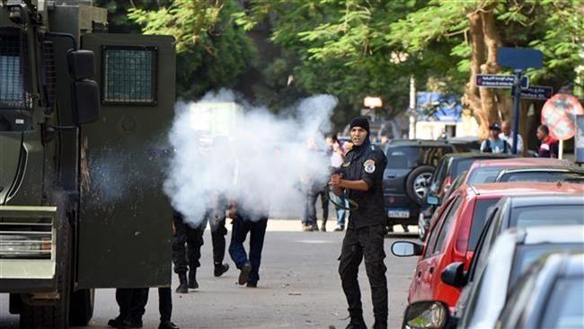 فرانسه در سرکوب قیام مردم مصر مشارکت داشته است