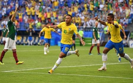 صعود درخشان برزیل به یک چهارم نهایی   خبری از شگفتی نبود