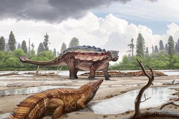 فسیل یک دایناسور مهاجر در آمریکا کشف شد