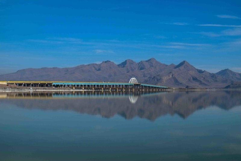 عمق دریاچه ارومیه افزایش یافت
