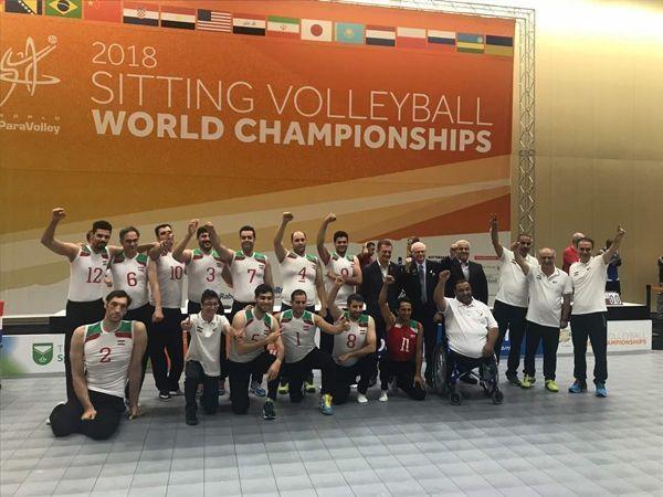 تیم ملی والیبال نشسته مردان ایران قهرمان جهان شد