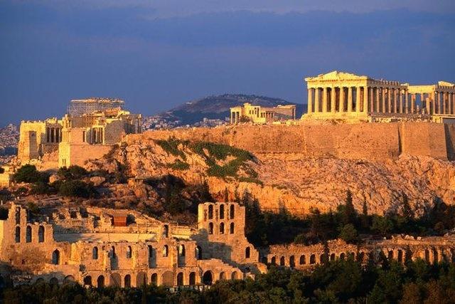 تعطیلی آکروپلیس یونان