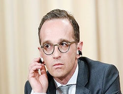 وزیر خارجه آلمان: اروپا در برابر آمریکا کوتاه نمیآید
